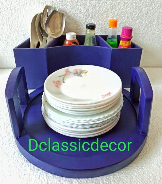 Breakfast buffet organiser ( Blue)