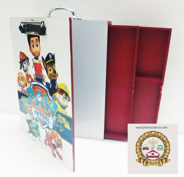Multipurpose Art Box ( Paw patrol theme)