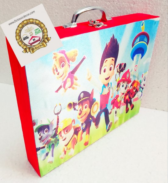 Stationery Box ( Paw Patrol Theme )
