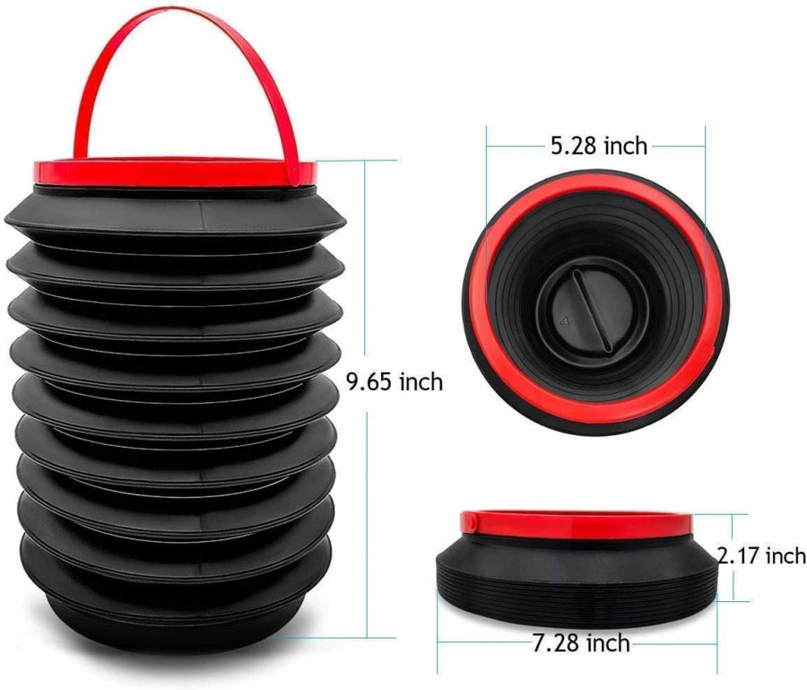 Collapsible Car Dustbin