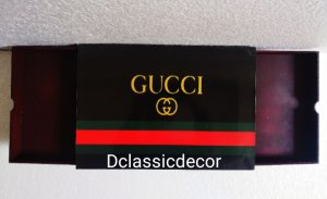 Cushioned lap table with drawers( special Gucci print)