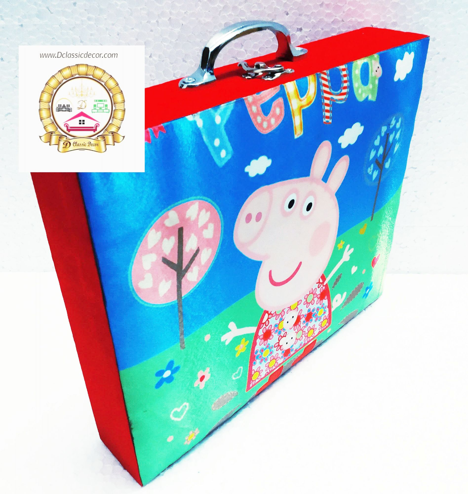 Stationery Organizer (  Peppa pig theme )