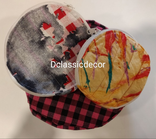 Roti/Chapati Covers (Set of 3 ) (Pure Cotton )