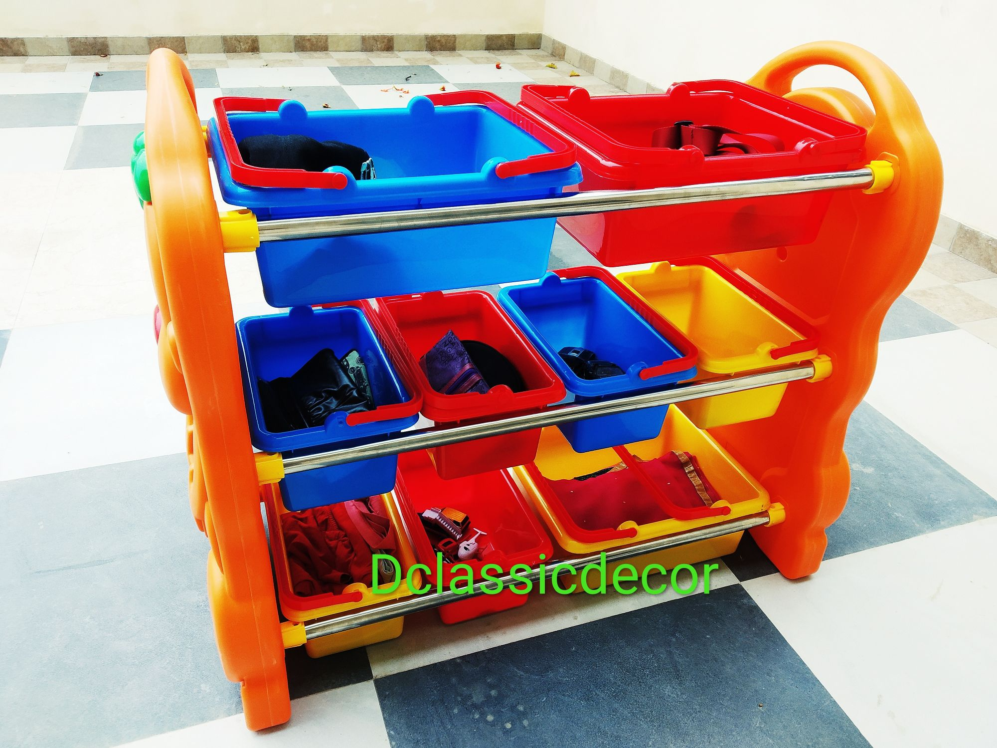 Multipurpose kids Toy Shelf / Rack