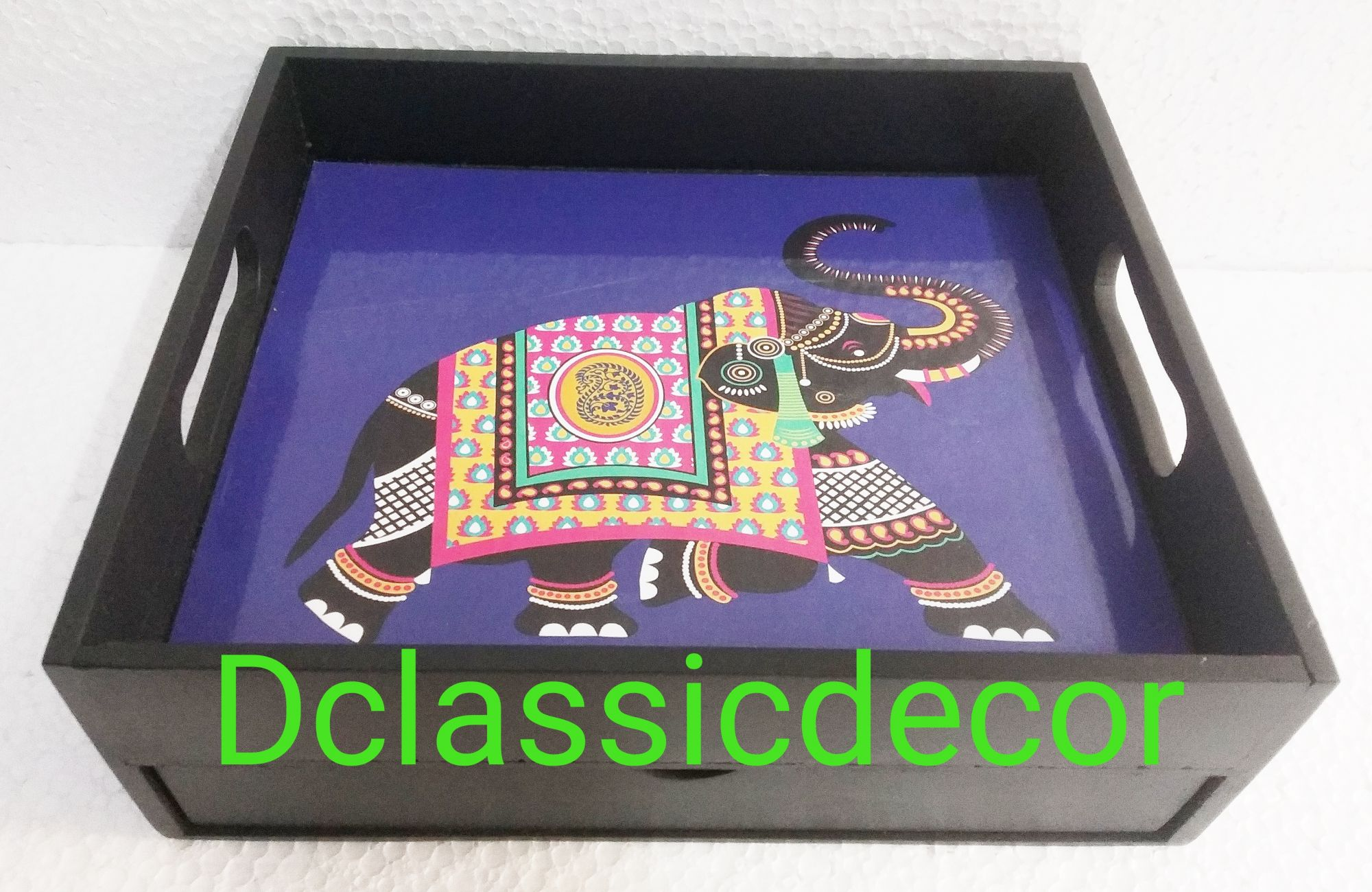 Rajasthani Print Drawer Tray