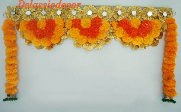 Marigold Flower Bandhanwar For Diwali