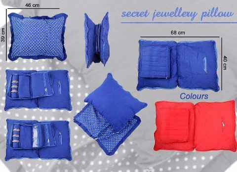 Secret Jewellery  Pillow (Red)