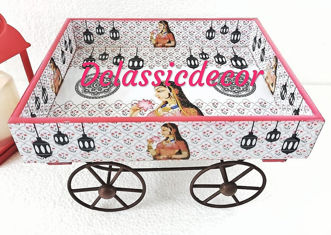 Anarkali Print Thela Cart
