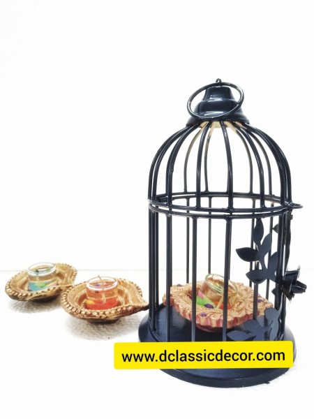 Decorative Bird cage/ t light holder