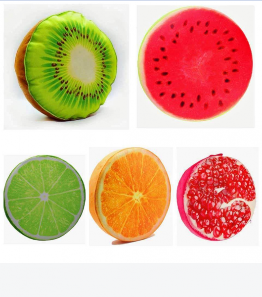 Fruit Cushions (Set Of 5)